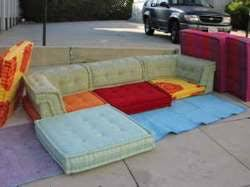 scavenger roche bobois mah jong sectional couch for 1500 bo