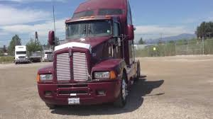 used t600 kenworth 2007 kenworth t600 bidoniron com id 580 youtube