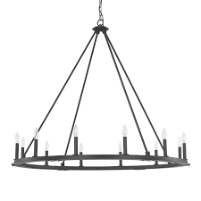 Black Iron Chandeliers Capital Lighting Fixture Company Pearson Black Iron Twelve Light