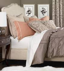 niche luxury bedding by eastern accents walsh collection peach