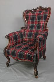 Victorian Armchair Antique Victorian Tartan Armchair Sold Antique Chairs