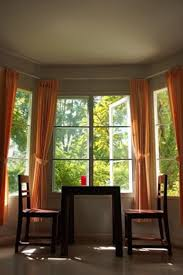 Dining Room Window Treatments Ideas Perfect Dining Room Bay Window Curtains Inspired Ideas For Inside