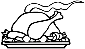 free printable colouring sheets thanksgiving food for toddler 2085