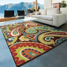 3 X 5 Indoor Outdoor Rugs Orian Rugs Indoor Outdoor Paisley Monteray Multi Area