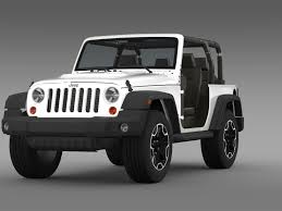 jeep wrangler models list jeep wrangler rubicon 10th anniversary 2014 3d model vehicles 3d