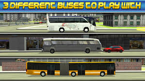 3d bus driver simulator car parking game monster truck
