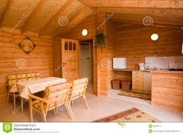 log cabin interior stock photography image 2505412