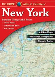 Barnes And Noble Publishing New York Atlas And Gazetteer By Delorme Publishing Company