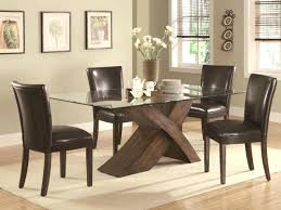 Breakfast Tables Sets Dining Tables Exciting Brown Rectangle Modern Wooden Dining Tables