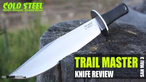 cold steel kitchen knives review cold steel san mai iii trail master knife review osograndeknives