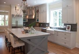 Kitchen Cabinet Island Ideas Kitchensoft Green Kitchen Island And White L Shape Kitchen