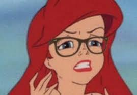 Hipster Glasses Meme - sofia coppola s little mermaid is basically going to be this meme