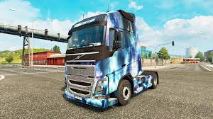 volvo 2017 truck skin space nature on a volvo truck for euro truck simulator 2