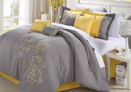 bedding set white and yellow bedding incredible gray white and