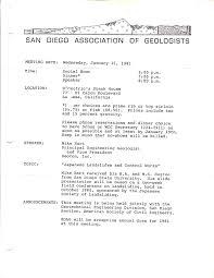 Secretary Cv Example Sdag Newsletter Archive