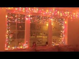 Christmas Decorations Hanging Light Fixtures by Christmas Decorating Using Christmas Lights Indoors Youtube