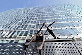 siege europeen statues de siège de la commission européenne photo éditoriale