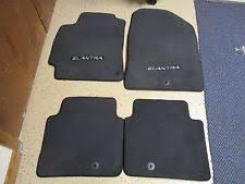 hyundai elantra mats hyundai 2017 elantra sedan 4pc black carpet floor mats oem f2f14