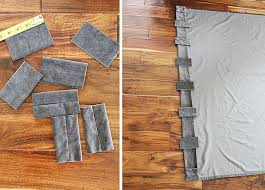 How To Make Grommet Top Curtains How To Turn A Grommet Top Curtain Into A Back Tab Curtain