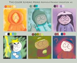 Southpark Meme - south park color meme weasyl