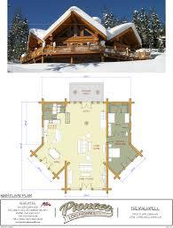 pioneer log homes floor plans kalispell pioneer log homes midwest
