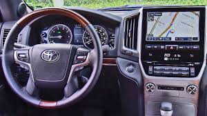 land cruiser car 2016 2016 toyota land cruiser interior youtube