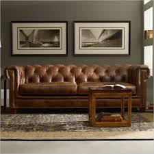 Chesterfield Tufted Leather Sofa Fantastic Tufted Brown Leather Sofa With Collection In
