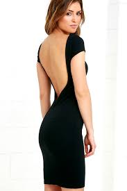 backless dress black dress lbd backless dress bodycon dress 44 00