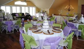 purple baby shower decorations purple and green baby shower decorations
