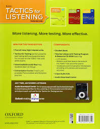 tactics for listening basic tactics for listening student book 1