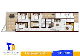 maisonette floor plan ground floor maisonette in birkirkara malta comprising of an