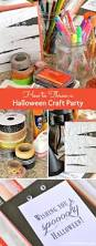 halloween tape how to throw a halloween craft party