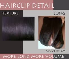 harga hair clip hair clip murah extension rambut human hair sintetik harga