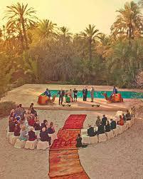small destination wedding ideas a green and white intimate outdoor destination wedding in morocco