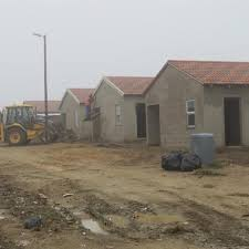 long awaited low cost houses going up george herald
