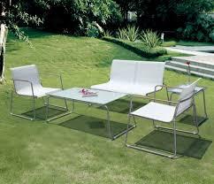 modele de jardin moderne awesome salon de jardin en textilene alu ideas amazing house