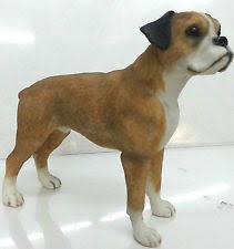 boxer dog statue boxer dog ornament ebay
