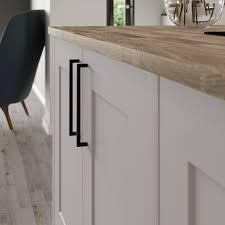 thin black kitchen cabinet handles thin square matt black d kitchen cabinet handle black