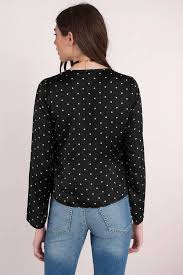 black polka dot blouse penelope black polka dot blouse 34 tobi us