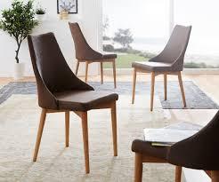 Esszimmerstuhl Vintage Esszimmerstuhl Kolonia Braun Vintage Optik Wildeiche Möbel Stühle
