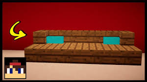 Minecraft How To Make A Furniture by Minecraft How To Make A Sofa Pillows Mcpe No Banners Or