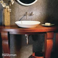 elegant small bathroom family handyman