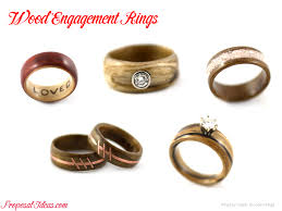 wood engagement rings alternative engagement rings wood ideas