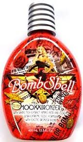 tanning bed lotion bombshell tanning bed lotion 100x hot tingle w 100xx bronzer by