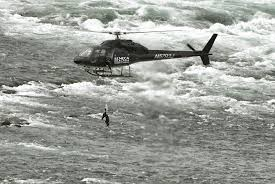 acrobat erendira wallenda hangs by teeth from helicopter above