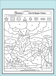 coloring pages math worksheets coloring sheet volcano 48 best coloring pages images on pinterest