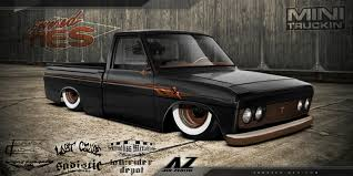 bagged nissan 720 1972 toyota pickup information and photos momentcar