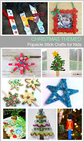 Kid Crafts For Christmas - 10 christmas themed popsicle stick crafts for kids buggy and buddy