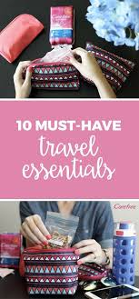 10 Must Travel Essentials For by 159 Best Travel Tips Essentials And Products Images On