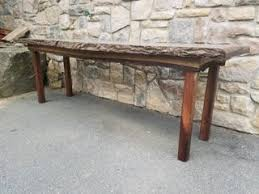 live edge outdoor table live edge black walnut table with skirt outsiders carpentry